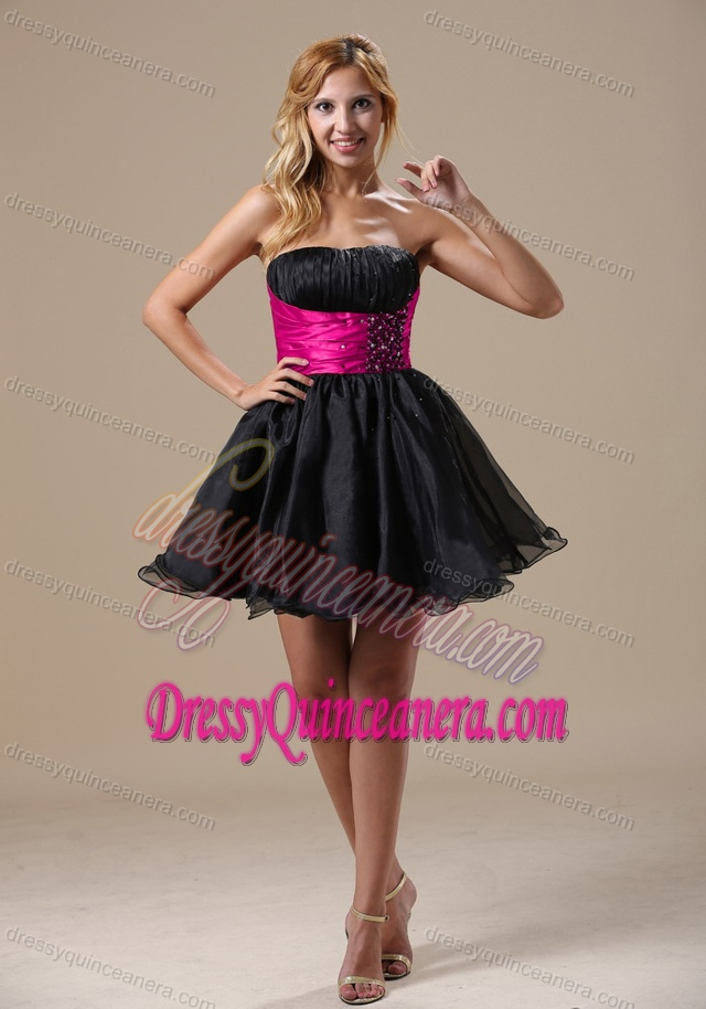 Quinceanera dama dresses black
