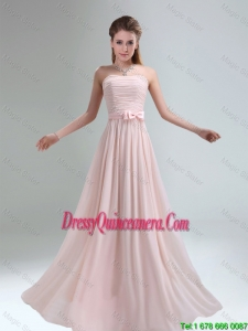 2016 Most Popular Empire Dama Dresses with Bowknot