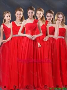 Popular Ruched Empire 2016 Feminine Dama Dresses