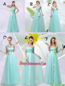 The Brand New Style Dama Dresses Chiffon Hand Made Flowers with Empire