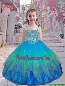 Perfect Straps Multi Color Mini Quinceanera Dresses with Beading