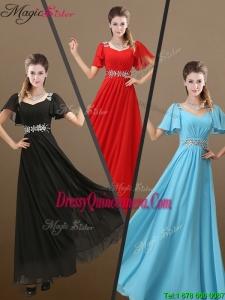 Perfect Empire Beading Dama Dress for 2016 Fall
