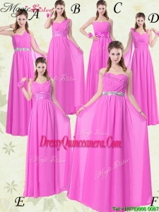2016 Beautiful Empire Ruching Dama Quinceanera Dresses for Spring