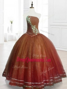 Popular Brown Custom Made Quinceanera Dresses with Beading