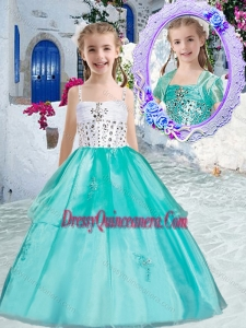 Classica Ball Gown Mini Quinceanera Dresses with Appliques and Beading