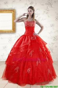 Perfect Strapless Quinceanera Dresses for 2015