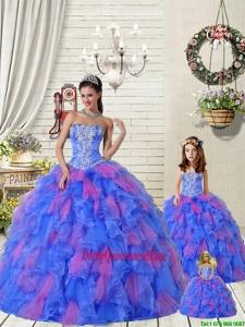 Organza Appliques Princesita Dress with Beading and Ruffles