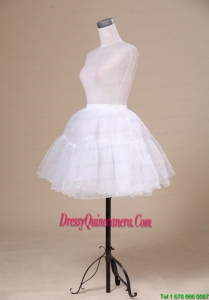2013 New Arrival White Mini Length Petticoat