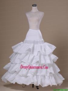 Ruffled Layers Ball Gown Taffeta For Prom Petticoats