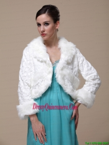 Gorgeous and Long-Sleeves For Special Occasion / Wedding Shawl Jacket