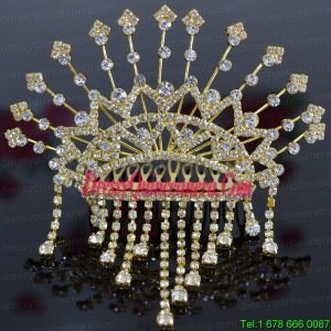 Classical Tiara With Rhinestones