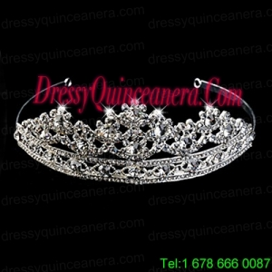 Exclusive Tiara With Splendid Carve Pattern