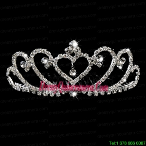 Popular Alloy With Rhinestone Tiara