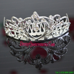 Vintage Style Wedding Tiara With Alloy