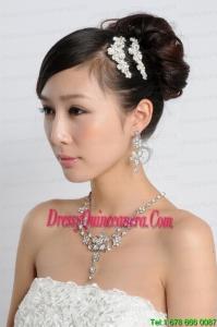 Beautiful Alloy/Rhinestones Ladies Jewelry Sets
