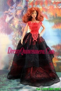 Exquisite Handmade Barbie Party Dress For Barbie Doll