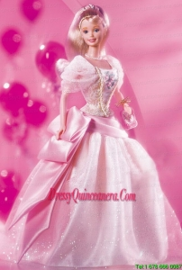 The Most Amazing Pink Dress with Sequin Made to Fit the Barbie Doll