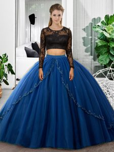 Inexpensive Long Sleeves Lace and Ruching Backless 15 Quinceanera Dress