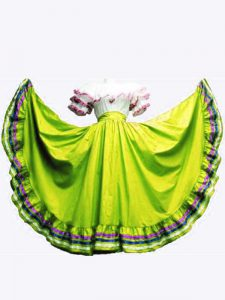 Olive Green Lace Up Off The Shoulder Ruffled Layers Vestidos de Quinceanera Taffeta Sleeveless