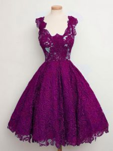 Dazzling Sleeveless Lace Lace Up Court Dresses for Sweet 16