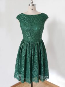 Dazzling Cap Sleeves Lace Lace Up Dama Dress for Quinceanera