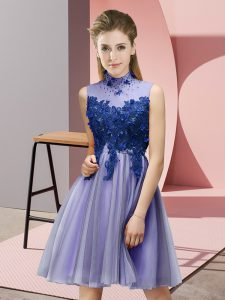 Clearance Sleeveless Appliques Lace Up Quinceanera Court Dresses