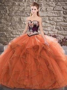 Charming Sleeveless Lace Up Floor Length Beading and Embroidery Sweet 16 Dress