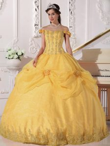 Yellow Sweet 16 Dresses
