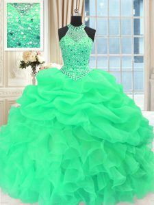 Fashion Scoop Pick Ups Floor Length Ball Gowns Sleeveless Quinceanera Dresses Lace Up