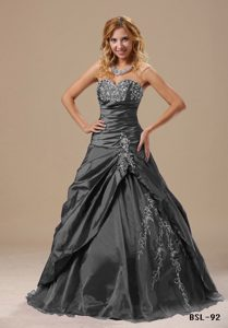 Discount White and Grey Quinceanera Gowns
