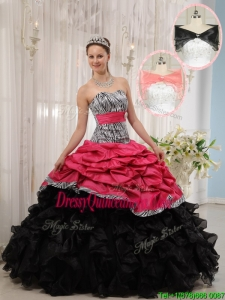 Fabulous Yellow Ball Gown Strapless Quinceanera Dresses