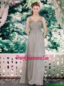 Fall Beautiful Sweetheart Dama Dresses with Hand Made Flowers