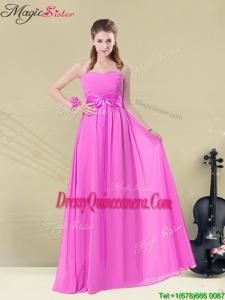 Popular Empire Sweetheart Dama Dresses for Spring