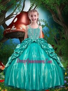 Pretty Straps Beading 2016 Mini Quinceanera Dresses