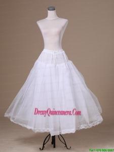 A Line Tulle Floor Length Pretty Wedding Petticoat