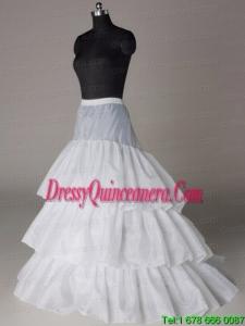 Beautiful Hot Selling Organza Floor Length Wedding Petticoat