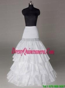 Four Layers Hot Selling Taffeta Floor Length Wedding Petticoat