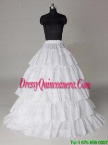 Hot Selling Taffeta Five Layers Floor Length Wedding Petticoat