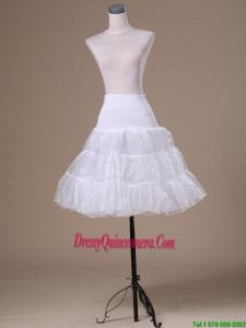 Lovely Organza Mini Length Girls Petticoat