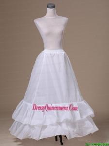 Popular Taffeta Floor Length Petticoat