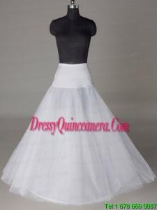 Tulle A Line Floor Length Wedding Petticoat