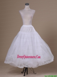 White Hot Selling Tulle Ankle Length Petticoat