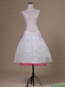 White Tulle Mini Length Petticoat