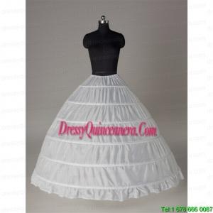 Top Seller Ball Gown Floor Length White Petticoat