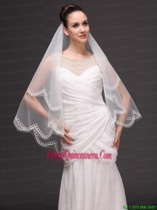 Tow-tier Tulle Wedding Veil On Sale