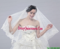 Two-Tier Tulle Drop Veil Bridal Veils for Wedding Party