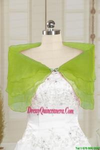2014 Olive Green New Style Beading Shawls