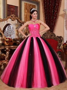 Muti-Colored Ball Gown Sweetheart inexpensive Quinceanera Dresses