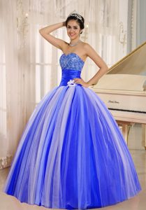 2013 New Arrival Strapless Tulle Quinceanera Gown Dresses in Multi-color